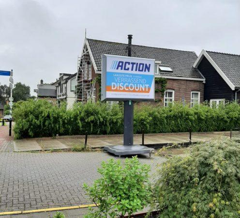'Action' in Reeuwijk-Dorp